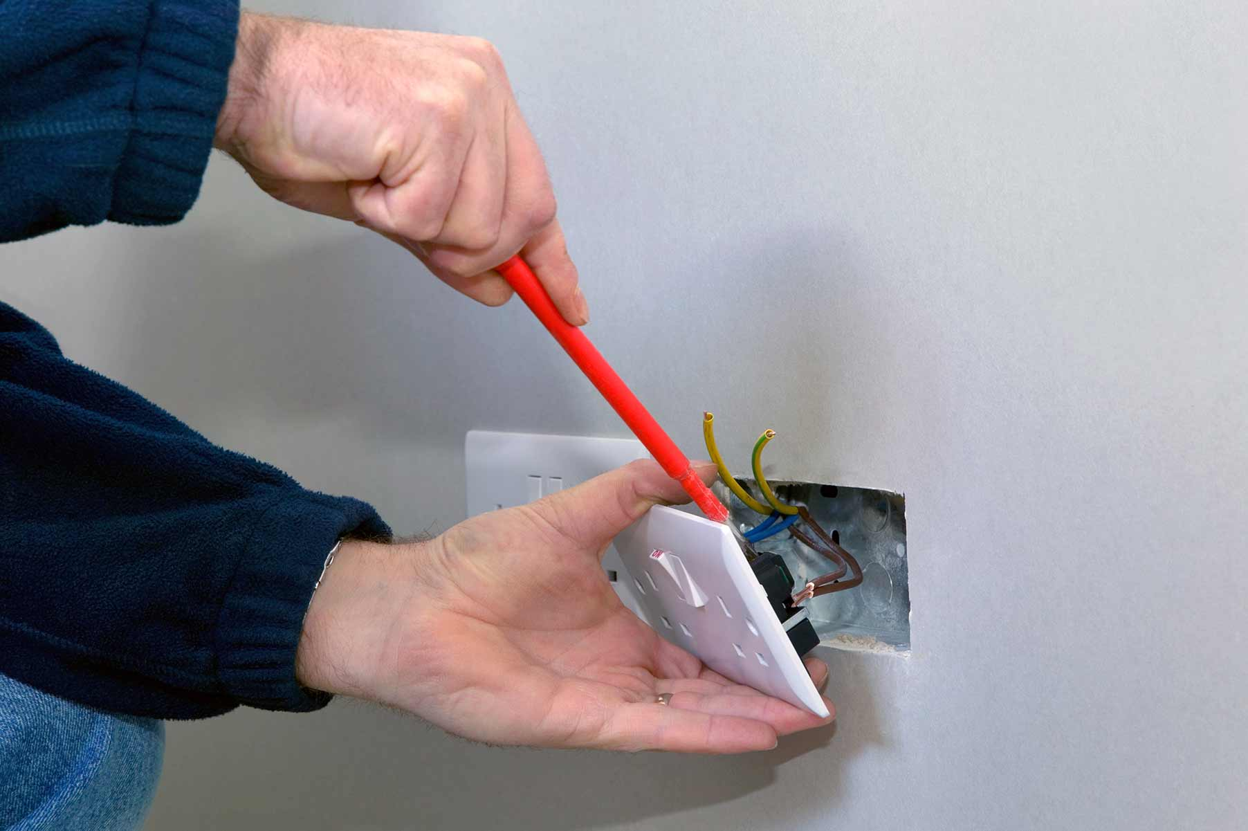 Our electricians can install plug sockets for domestic and commercial proeprties in West Hendon and the local area.